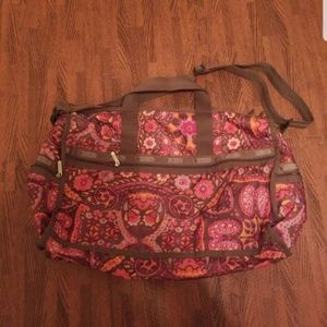 LESPORTSAC BAG TRAVEL LUGGAGE NWOT